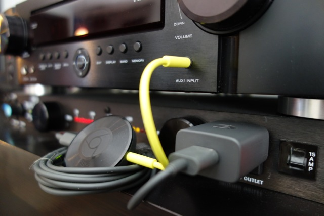 Google à arrêter la production du Chromecast Audio